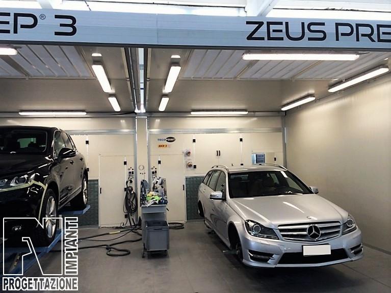 Realizzazione di nuovi box per le zone preparazione Zeus e Veicoli – Car Service Italia Srl